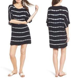 NWT Splendid Tie Dye Stripe T-Shirt Dress